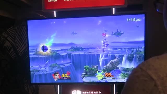 Watch and share Smash Ultimate Jab Locks? GIFs by YungGekkouga on Gfycat