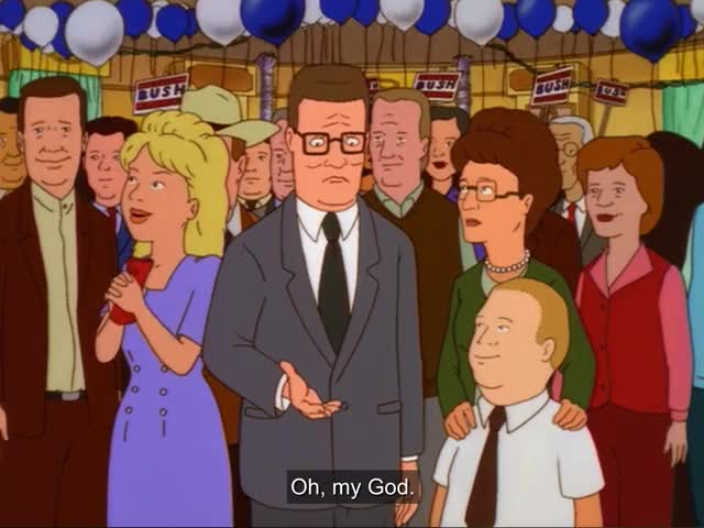 Watch and share King Of The Hill GIFs and Handshake GIFs by Huh? on Gfycat