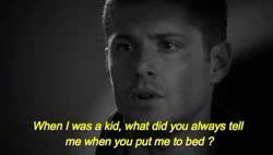 Watch you kinky son of a bitch. GIF on Gfycat. Discover more casdean, destiel, destiel gifs, mary winchester GIFs on Gfycat