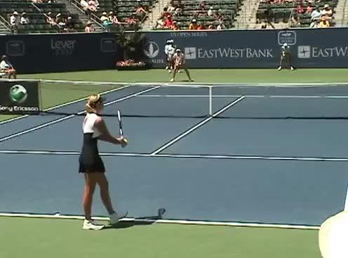Watch and share Sharapova GIFs on Gfycat
