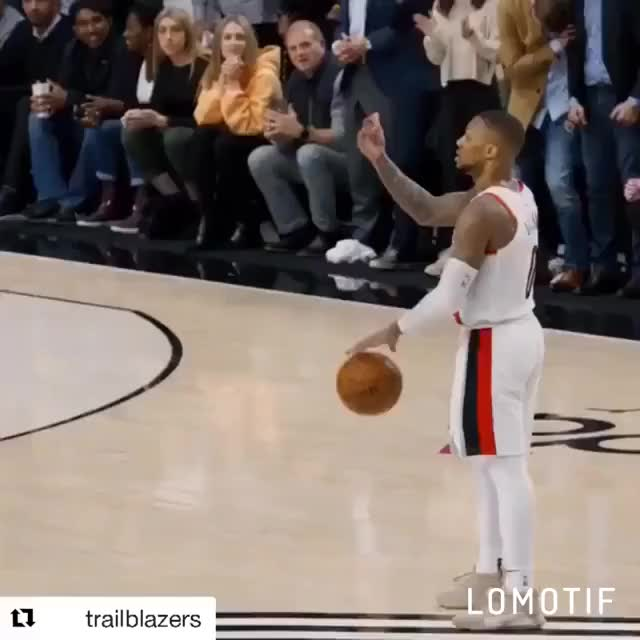 Watch and share Damian Lillard GIFs and Basketball GIFs by superderrick on Gfycat