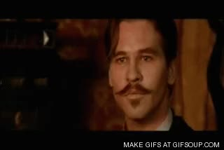 Watch and share Doc Holiday GIFs on Gfycat
