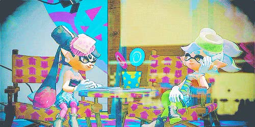 Watch and share Inkling Girl GIFs and Gamediting GIFs on Gfycat