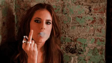 Watch and share Middle Finger GIFs by Reactions on Gfycat