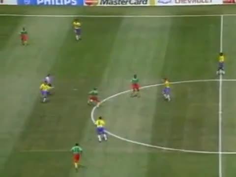Watch WC 1994 - Brazil v Cameroon GIF on Gfycat. Discover more 1994, Brazil, Camareon, Copa, Mundo, cup, de, do, world GIFs on Gfycat