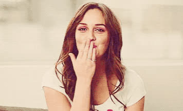 Leighton, Meester, adios, bye, cu, cute, farewell, girl, goodbye, gossip, kiss, kisses, later, see, smile, you, Bye cutie GIFs