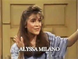 Watch and share Alyssa Milano GIFs on Gfycat