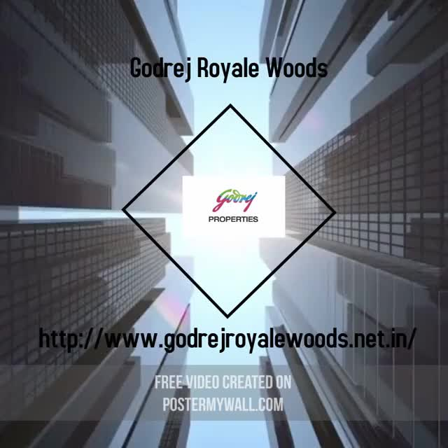 Watch and share Godrej Royale Woods GIFs and Godrej Properties GIFs by Godrej Royale Woods on Gfycat