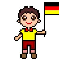 Watch and share Germany animated stickers on Gfycat