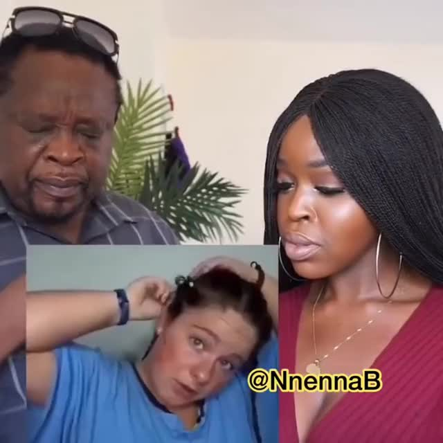 White Girl Cornrows Hair LITERALLY | African Dad Reacts