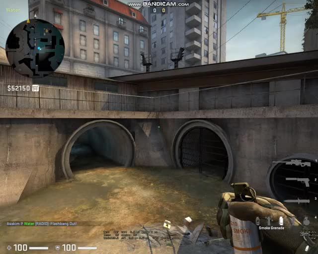 Watch and share Overpass-T Smoke B Site From Bshort GIFs by asakimesta27 on Gfycat