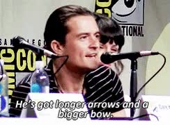 Watch and share Bow And Arrow GIFs and Orlando Bloom GIFs on Gfycat