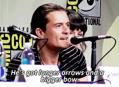 archery, bow and arrow, orlando bloom,  GIFs