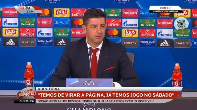 Watch and share Rui Vitória Conf De Imprensa Benfica 0 X 2 Basileia Champions League 2017-18 HD GIFs on Gfycat