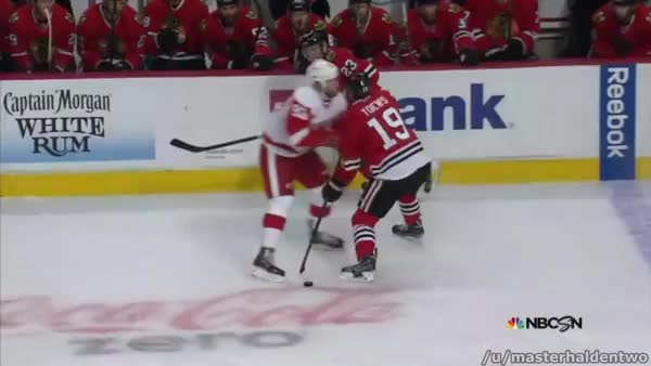 Watch Mule taking Toews down (reddit) GIF by @masterhaldentwo on Gfycat. Discover more detroitredwings GIFs on Gfycat