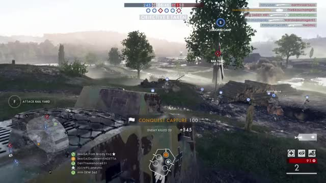 Watch Dedicated Sniper GIF by Gamer DVR (@xboxdvr) on Gfycat. Discover more Battlefield1, DrunkenVENDETTA, xbox, xbox dvr, xbox one GIFs on Gfycat