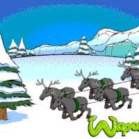 Watch and share Trineo De Papa Noel En La Nieve Del Invierno GIFs on Gfycat