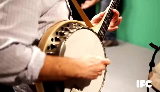 music, ed helms banjo GIFs