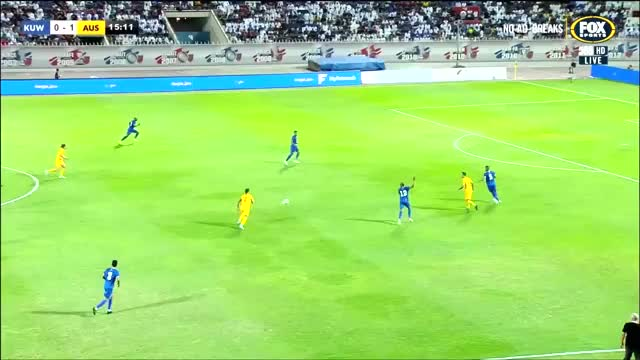 Watch and share Aaron Mooy Vs Kuwait WCQ 2019 2 GIFs on Gfycat