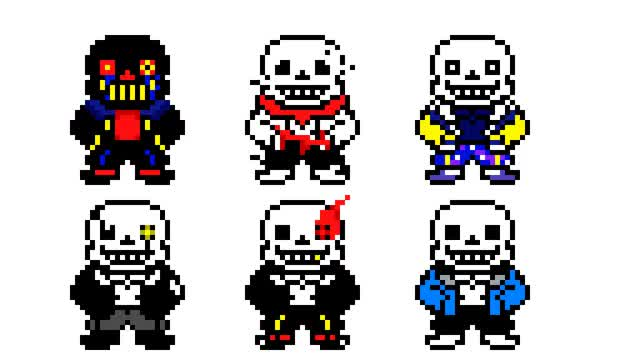 Watch and share Main-image-Undertale AUs Sans By PixelatedByMe GIFs on Gfycat