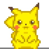 Watch and share Pikachu Mail animated stickers on Gfycat
