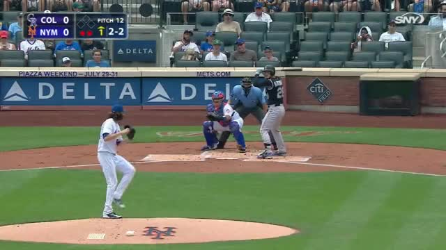 Watch and share DeGrom's Scoreless Start GIFs by emmabatch on Gfycat