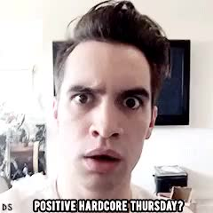 Watch and share Brendon Urie GIFs on Gfycat