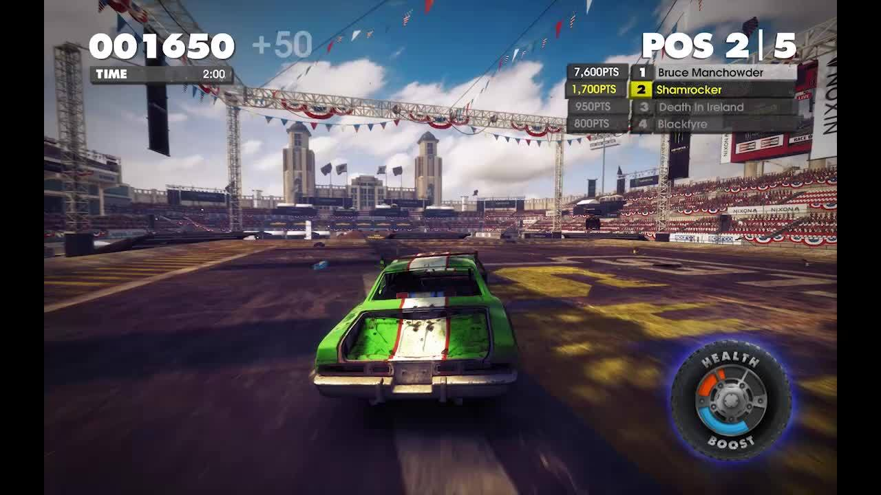 60fpsgaminggifs, More DiRT: Showdown fun (reddit) GIFs