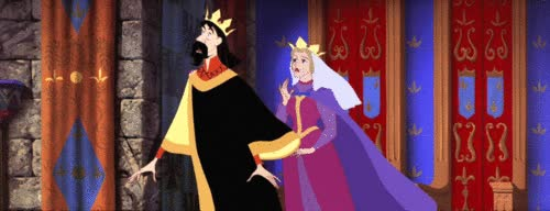 Watch and share Sleeping Beauty Wallpaper Entitled Sleeping Beauty King And Queen GIFs on Gfycat