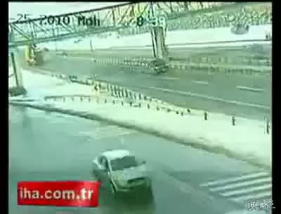 Watch and share Dump Truck GIFs and Bridge GIFs on Gfycat