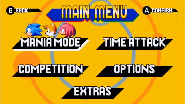 Watch and share Sonic Mania - Official Menu GIFs on Gfycat