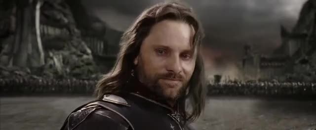 Watch and share Viggo Mortensen GIFs and Frodon GIFs on Gfycat