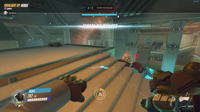 Watch This is some bullshit. GIF by @thehedgehogengine on Gfycat. Discover more highlight, overwatch GIFs on Gfycat