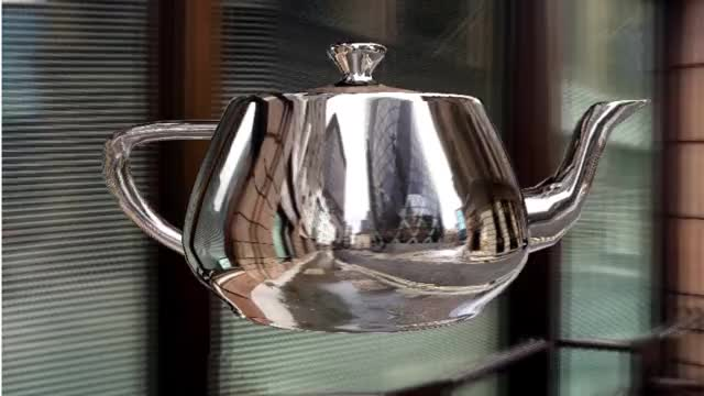 Teapot 2 (Corrected method)
