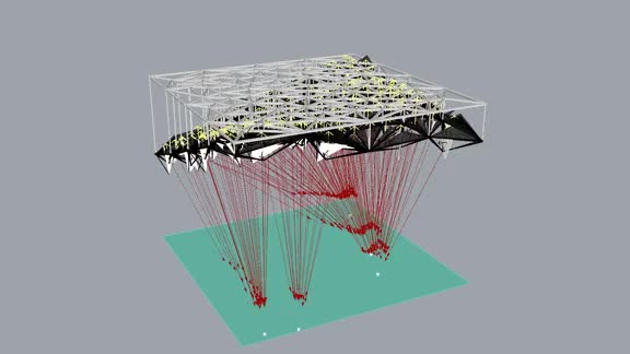 Watch Radiance Actuated Canopy Diagram GIF on Gfycat. Discover more Architecture, Grasshopper, Kinetic GIFs on Gfycat