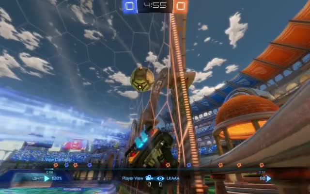 Watch and share Rocket League GIFs and Goal GIFs by lkaa on Gfycat