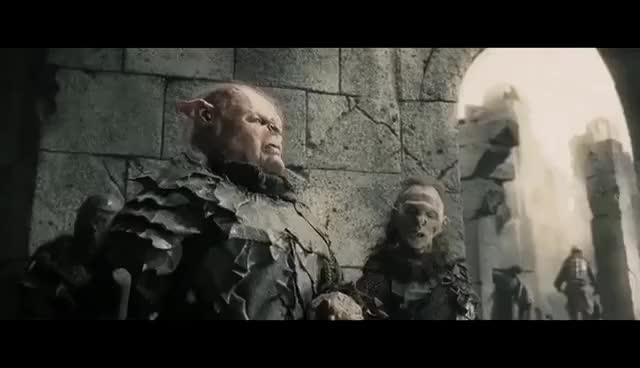 Watch and share The Age Of Men Is Over. The Time Of The Orc Has Come. GIFs on Gfycat
