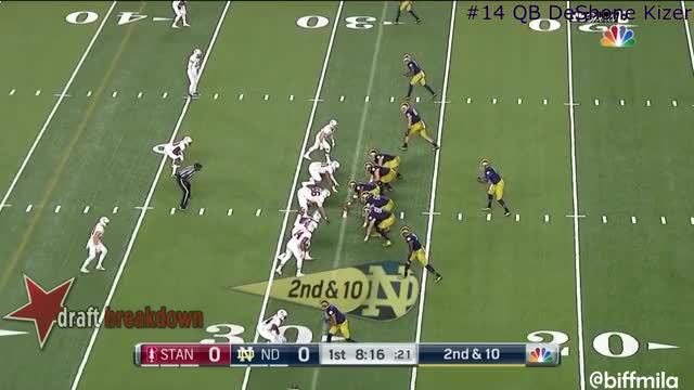 Watch and share DeShone Kizer (Notre Dame) Vs. Stanford (2016) GIFs on Gfycat