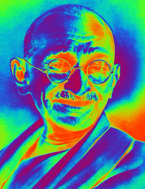 Watch I like your face GIF on Gfycat. Discover more bob marley, ghandi, gifset, trippin, trippy GIFs on Gfycat