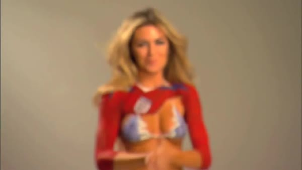 Abbey Clancy - SI Swimsuit 2010 - Soccer WAG Bodypaint - HD edit (reddit) GIFs