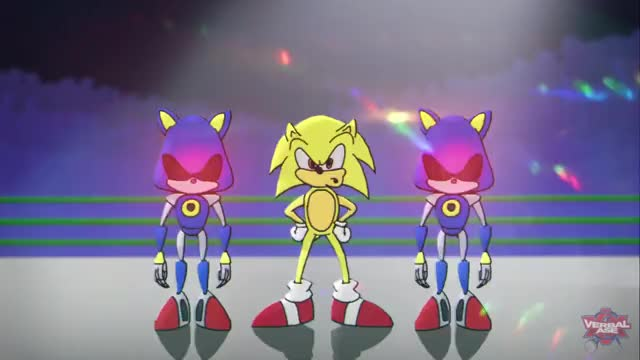 Watch and share Mario Vs Sonic - Cartoon Beatbox Battles GIFs on Gfycat