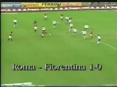 Watch and share Batistuta In ROMA-FIORENTINA GIFs on Gfycat