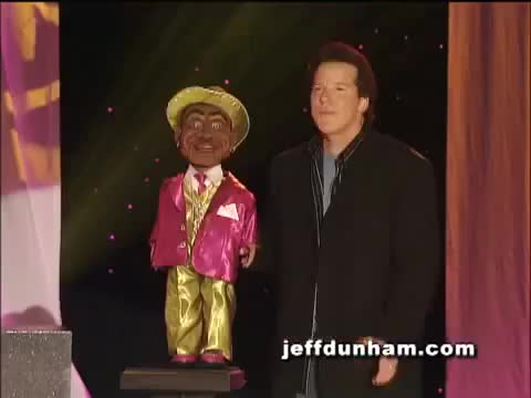 Watch word GIF on Gfycat. Discover more Dee, Stand-Up, Walter, achmed, arguing, comedy, daddy, dunham, funny, jeff, keel, laughing, movie, myself, peanut, sweet, ventriloquist, with GIFs on Gfycat