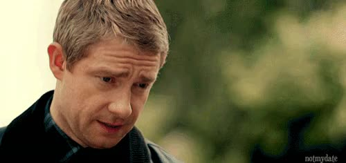 Watch Puppy eyes GIF on Gfycat. Discover more martin freeman GIFs on Gfycat