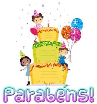 Watch and share Gifs De Aniversário , Feliz Aniversário, Gifs De Parabéns, Happy Birthday Gif GIFs on Gfycat