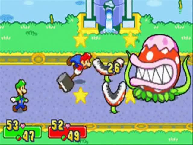 Watch and share Mario & Luigi: Superstar Saga - Bosses Mama Pirana (9) GIFs on Gfycat