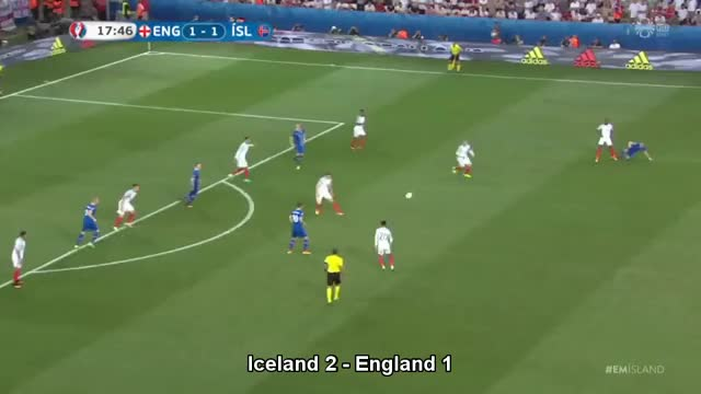Watch Iceland 2 - England 1 GIF by @arrogantamb on Gfycat. Discover more football, soccer, sports, uefa, uefa cup GIFs on Gfycat