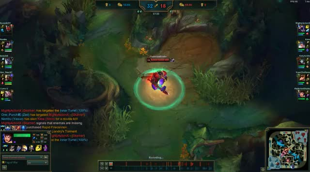 Watch and share Garen - 1v1 Trundle Outplay GIFs on Gfycat