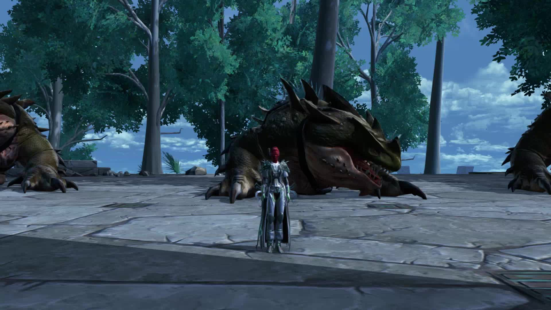 MMO, PC, SWTOR, Star Wars, Empress Mintlaw & Her Dragons GIFs