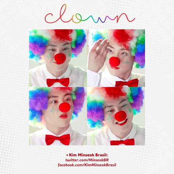 Watch clown GIF by Ana Carolina Ogata (@anacarolinaogata) on Gfycat. Discover more related GIFs on Gfycat